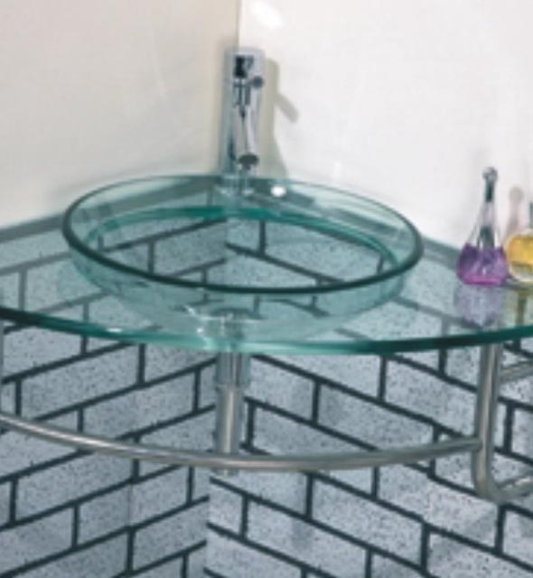 Vanity Bases | Glass Collection - HG-M003 |by Hospitality Finishes