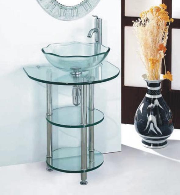 Vanity Bases | Glass Collection - HG-M005 |by Hospitality Finishes
