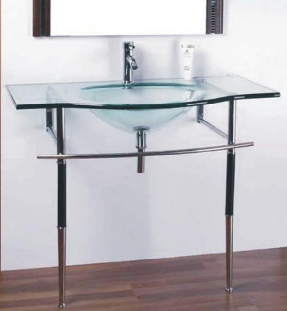 Vanity Bases   Glass Collection - HG-M007  by Hospitality Finishes