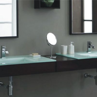 Vanity Bases | Glass Collection - HG-M018 |by Hospitality Finishes
