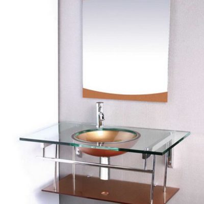 Vanity Bases | Glass Collection - HG-M022 |by Hospitality Finishes