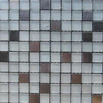 Mosaics Tile | Mixed Glass & Metal - VAA007 |by Hospitality Finishes