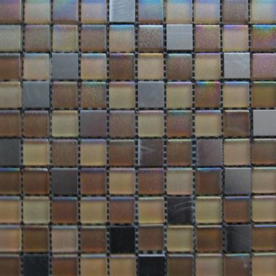 Mosaics Tile | Mixed Glass & Metal - VAAHA005 |by Hospitality Finishes