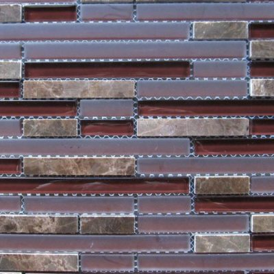 Mosaics Tile | Stripped Mosaic - VABDH391 |by Hospitality Finishes