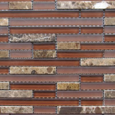 Mosaics Tile | Stripped Mosaic - VAH392 |by Hospitality Finishes