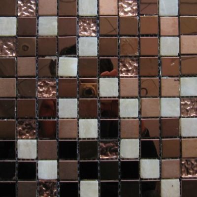 Mosaics Tile | Mixed Glass & Metal - VASPH061 |by Hospitality Finishes