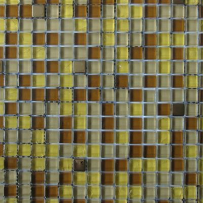Mosaics Tile | Mixed Glass & Metal - VB0312 |by Hospitality Finishes