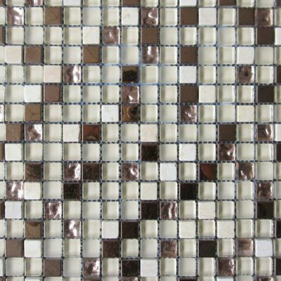 Mosaics Tile | Mixed Glass & Metal - VB0980 |by Hospitality Finishes