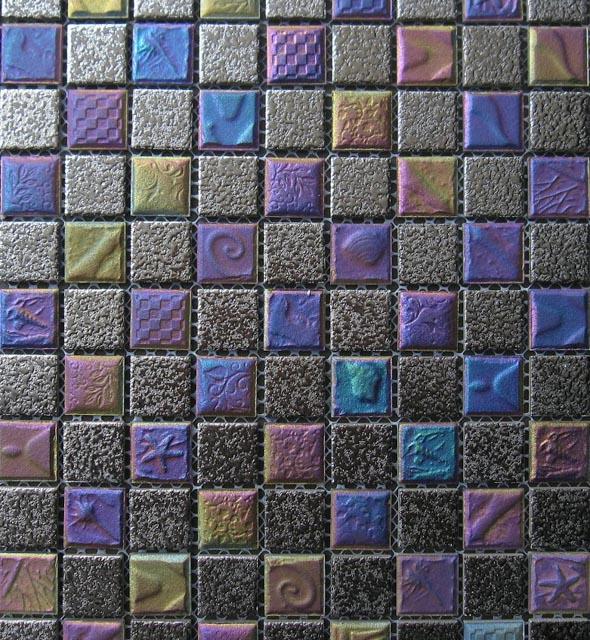 Mosaics Tile | Ceramic Mosaic - VB25DY70 |by Hospitality Finishes