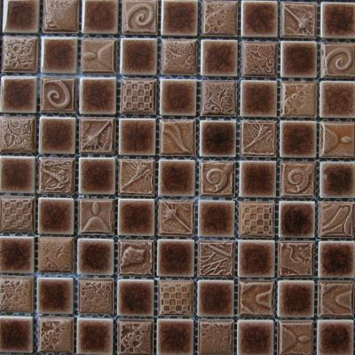 Mosaics Tile | Ceramic Mosaic - VB25FL1088 |by Hospitality Finishes