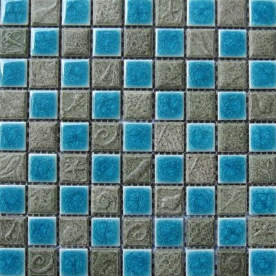 Mosaics Tile | Ceramic Mosaic - VB25FL1098 |by Hospitality Finishes