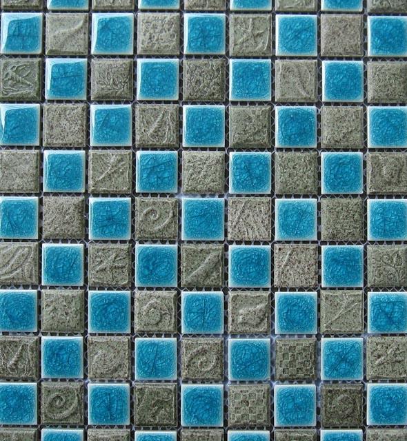Mosaics Tile | Ceramic Mosaic - VB25FL1098 |by Hospitality Finishes