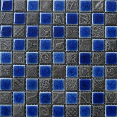 Mosaics Tile | Ceramic Mosaic - VB25FL1209 |by Hospitality Finishes