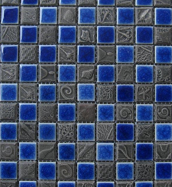 Mosaics Tile | Ceramic Mosaic - VB25FL1209 |by Hospitality Finishes