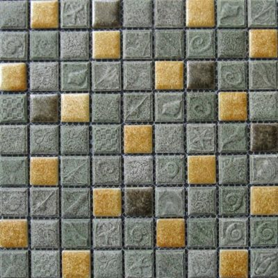 Mosaics Tile | Ceramic Mosaic - VB25RF1094 |by Hospitality Finishes