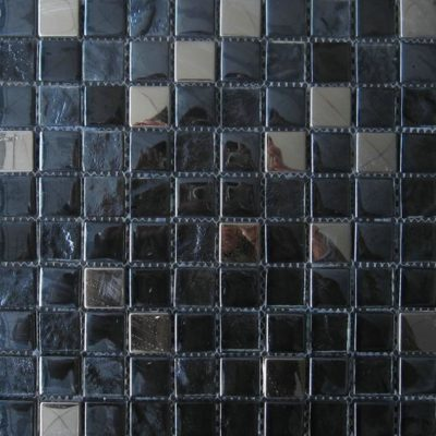 Mosaics Tile | Mixed Glass & Metal - VBDG008 |by Hospitality Finishes