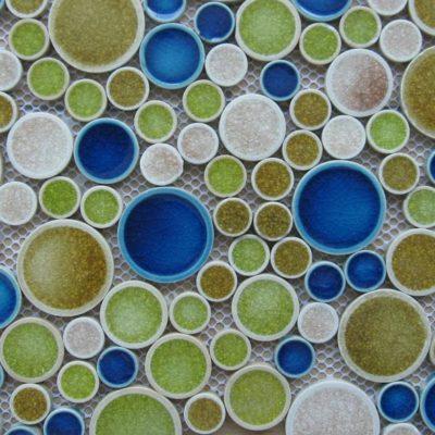 Mosaics Tile | Ceramic Mosaic - VBLQ4A09 |by Hospitality Finishes