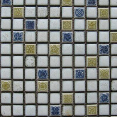 Mosaics Tile | Ceramic Mosaic - VBLR23007 |by Hospitality Finishes