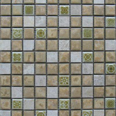 Mosaics Tile | Ceramic Mosaic - VBLR23011 |by Hospitality Finishes