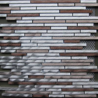 Mosaics Tile | Metal Mosaic - VDB2-154 |by Hospitality Finishes