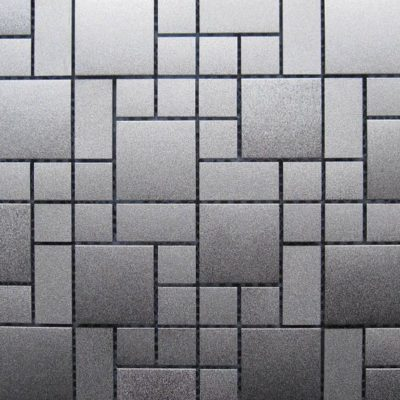 Mosaics Tile | Metal Mosaic - VDB2A-001 |by Hospitality Finishes