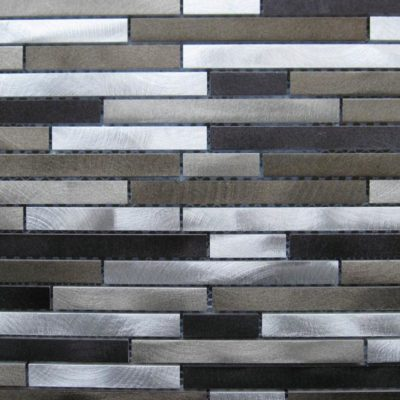 Mosaics Tile | Metal Mosaic - VDBD2-063 |by Hospitality Finishes