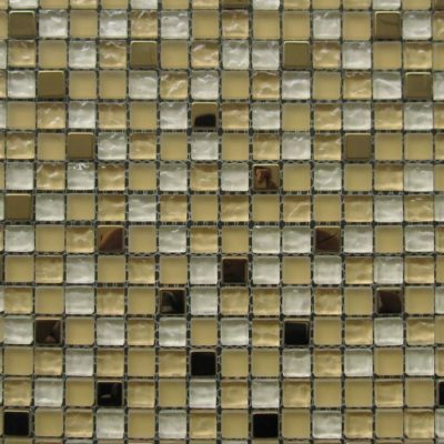 Mosaics Tile | Mixed Glass & Metal - VH101 |by Hospitality Finishes