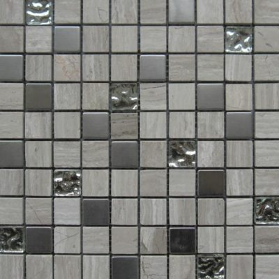 Mosaics Tile | Mixed Glass & Metal - VH479 |by Hospitality Finishes