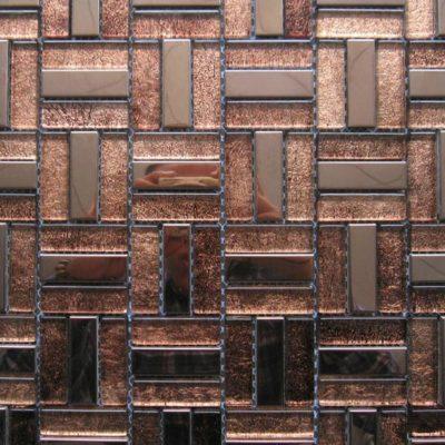 Mosaics Tile | Stripped Mosaic - VXLS1003 |by Hospitality Finishes
