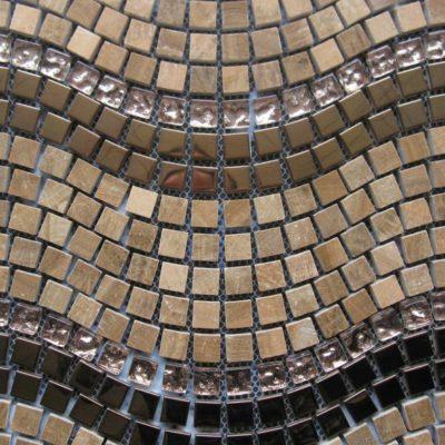Mosaics Tile | Stripped Mosaic - VXLS1009 |by Hospitality Finishes