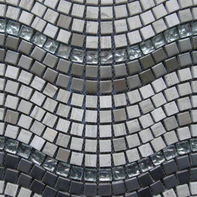 Mosaics Tile | Stripped Mosaic - VXLS10092 |by Hospitality Finishes