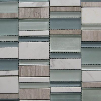 Mosaics Tile | Stripped Mosaic - VYS04 |by Hospitality Finishes