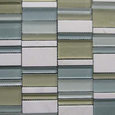 Mosaics Tile | Stripped Mosaic - VYS05 |by Hospitality Finishes