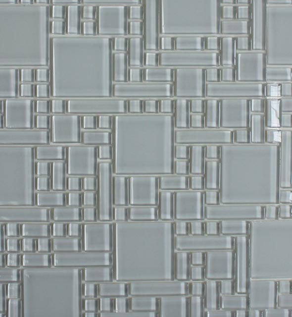 Mosaics Tile | Super White, Peel & Stick Instant Mosaic - XYD-076 |by Hospitality Finishes
