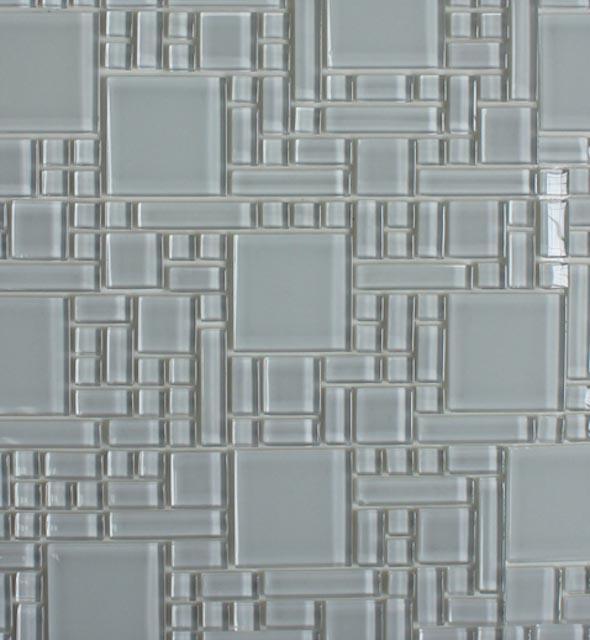 Mosaics Tile | Super White, Peel & Stick Instant Mosaic - XYD-076 |by Hospitality Finishes